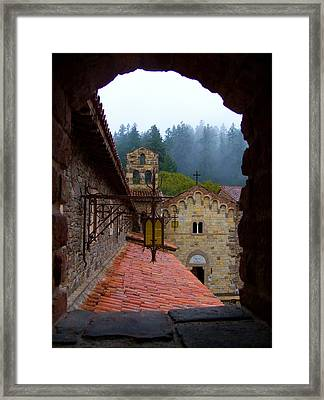 Portal To The Past Framed Print by Sarah Le Feber