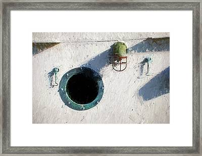 Portal To The Sea, Fine Art Print Framed Print by Greg Sigrist