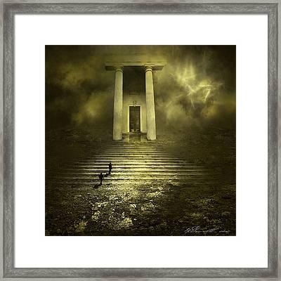 Portal Z Framed Print by Svetlana Sewell