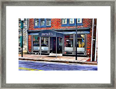 Portalli's Framed Print by Stephen Younts