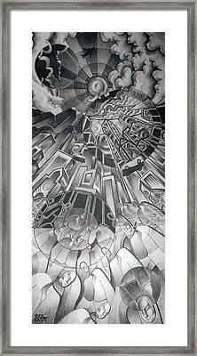 Portals Framed Print by Myron  Belfast