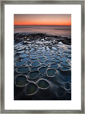 Portals To The Present Framed Print by Ryan Weddle