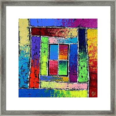 Portals To Window Framed Print