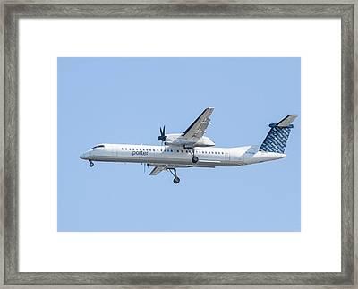 Porter Airlines Framed Print