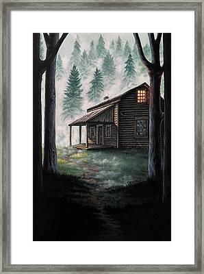 Porter's Hollow Framed Print