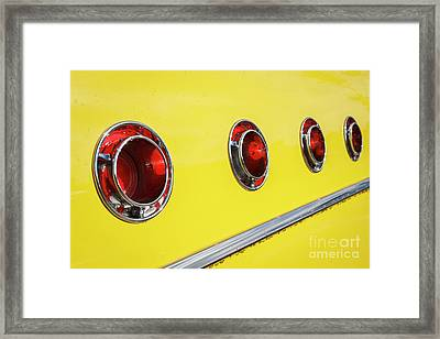 Framed Print featuring the photograph Portholes by Dennis Hedberg