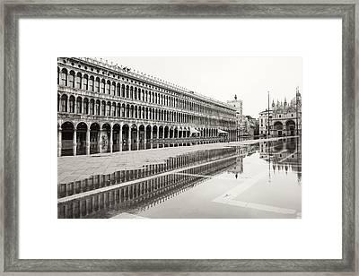 Portici Nell'acqua 2130x Framed Print