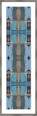 Portico Column II Framed Print by Ruth Palmer