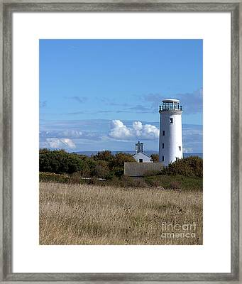 Framed Print featuring the photograph Portland Bird Observatory by Baggieoldboy