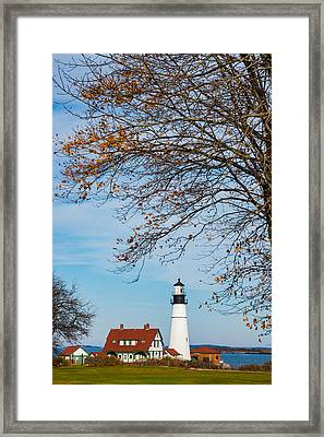 Portland Head Afternoon Framed Print