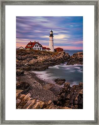 Portland Head Framed Print by Darren White