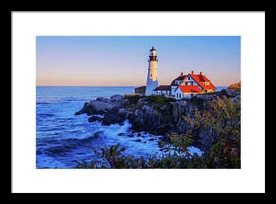 Cape Elizabeth Framed Prints