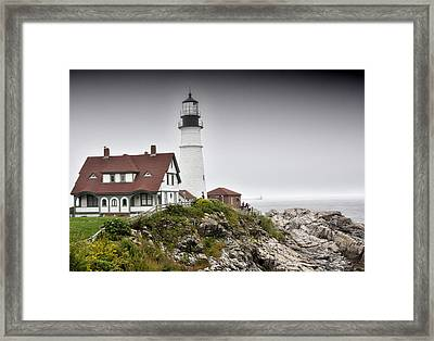 Portland Head Light - Maine Framed Print