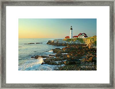 Portland Head Light No. 2  Framed Print