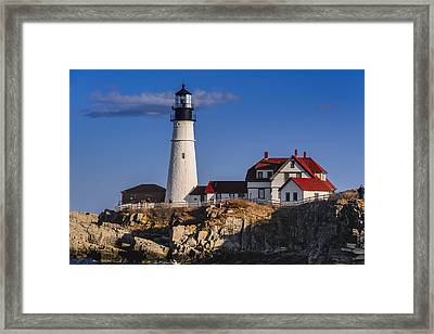 Portland Head Light No. 43 Framed Print by Mark Myhaver