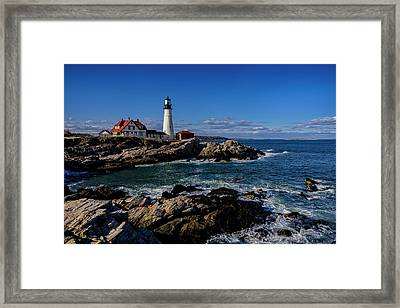 Portland Head Light No.32 Framed Print