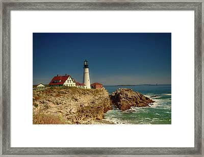 Portland Head Lighthouse 2 Framed Print