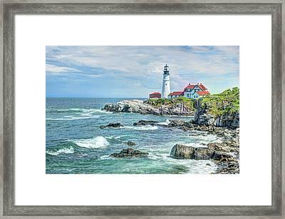 Portland Head Lighthouse #3 Framed Print