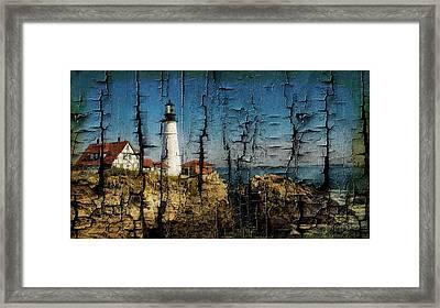 Portland Head Lighthouse 5 Framed Print
