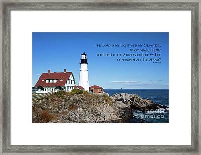 Portland Head Lighthouse Framed Print