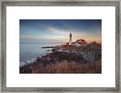 Portland Headlight Framed Print