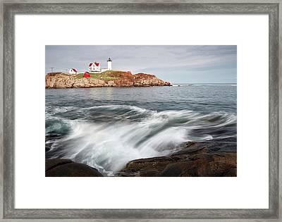 Portland Lighthouse Framed Print