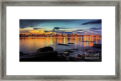 Portland Maine Framed Print by Benjamin Williamson