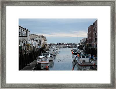 Portland Maine  Framed Print