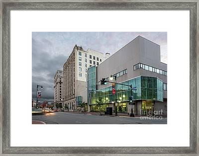 Portland Public Library, Portland, Maine #134785-87 Framed Print