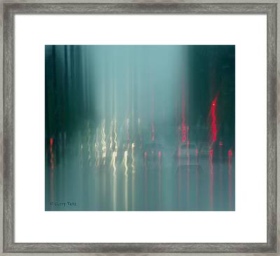 Portland Rains Framed Print