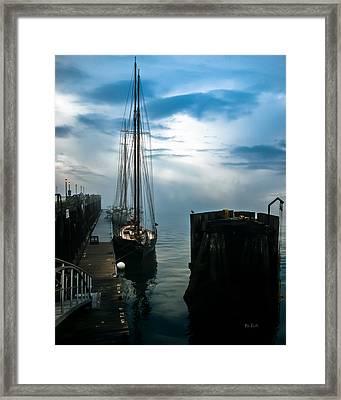 Portland Sunrise Framed Print by Bob Orsillo