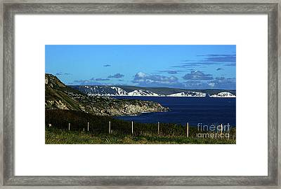 Framed Print featuring the photograph Portland To Weymouth  by Baggieoldboy