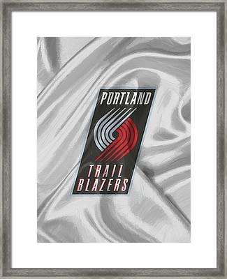 Portland Trail Blazers Framed Print