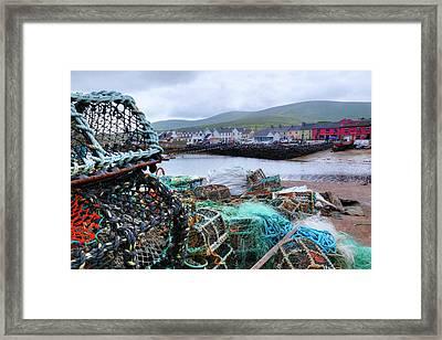 Portmagee - Ireland Framed Print by Joana Kruse