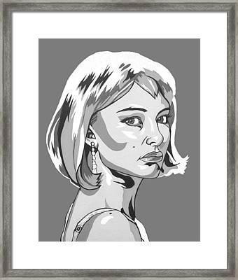 Portman Framed Print by Sarah Crumpler
