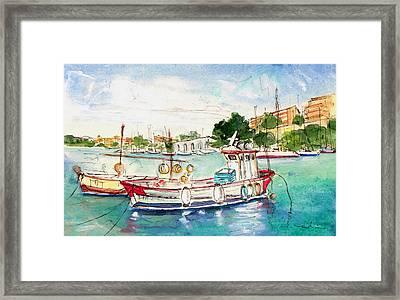Porto Cristo 03 Framed Print by Miki De Goodaboom