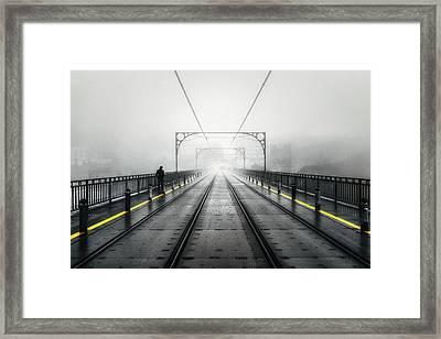 Porto Metro No 2 Framed Print