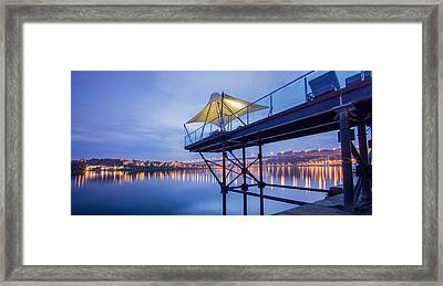Porto Night Out Framed Print