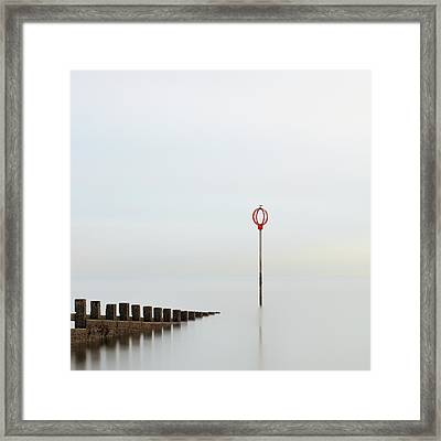 Framed Print featuring the photograph Portobello by Grant Glendinning
