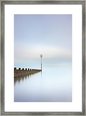 Framed Print featuring the photograph Portobello Long Exposure by Grant Glendinning