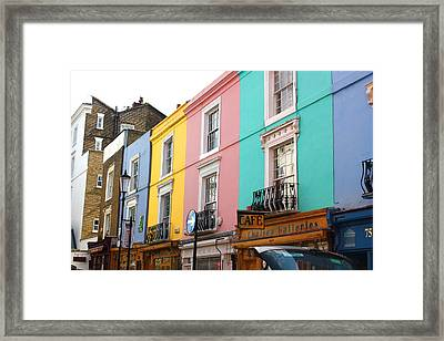 Portobello Road 02 Framed Print by Yvonne Ayoub