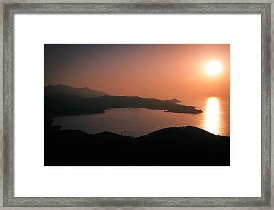 Portoferraio Framed Print by Doug Woodward