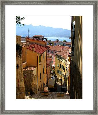 Portoferraio Elba Framed Print