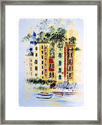 Portofino  Framed Print by Barbara Chase