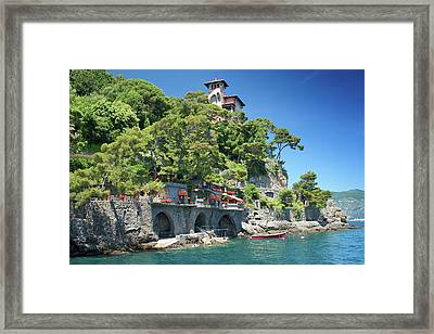 Portofino Casa 3 Framed Print
