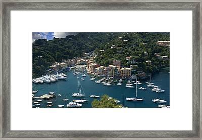Portofino In Tuscany Framed Print by Al Hurley