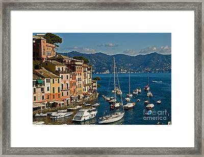 Portofino Italy Framed Print