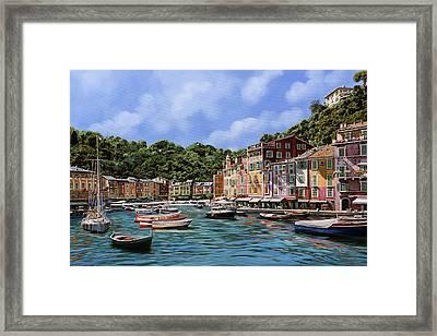 Portofino Nel 2012 Framed Print