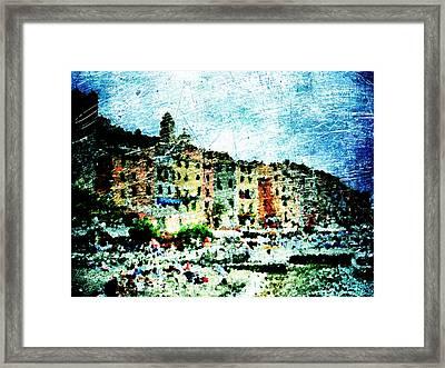 Portovenere Framed Print by Andrea Barbieri