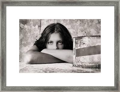Portrait #350479 Framed Print